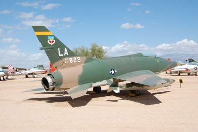 F-100C Super Sabre 54-1823 at the Pima Air and