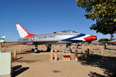 F-100D Super Sabre 54-2299 at the Joe Davies