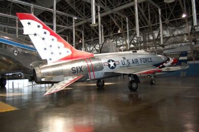 F-100D Super Sabre 55-3754 Thunderbirds Super