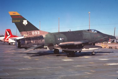 F-100D Super Sabre 56-3093 Georgia Air National
