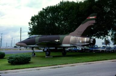 F-100D Super Sabre 56-3000 Triple Zilch