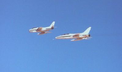 F-86 Sabre F-100 Super Sabre