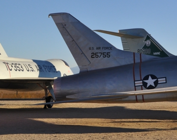 YF-100A Super Sabre tail