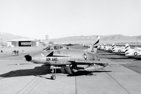 F-100A 52-5756 188th FIS New Mexico Air National