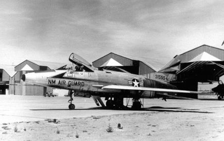 F-100A 53-1555 188th TFW NewMexico Air                       National Guard