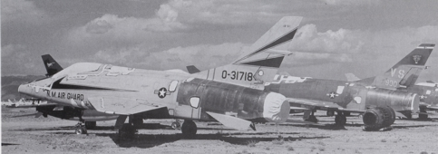 F-100C 188th TFS New Mexico Air National Guard