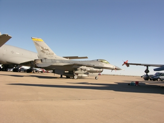 F-16C 85-1408 of the 188th FS New Mexico Air