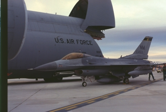 F-16C 85-1453 New Mexico Air National                         Guard