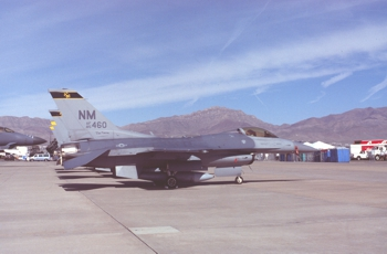 F-16C 85-1460 188th Fighter Squadron New Mexico                     Air National Guard