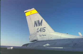 F-16C 88-0415 New Mexico Air National Guard                     markings