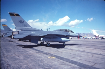 F-16D 85-1513 188th Fighter Squadron New Mexico                     Air National Guard