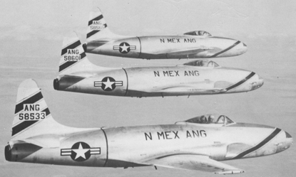 F-80Cs New Mexico Air National Guard