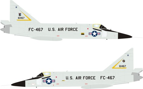 F-102A Delta Dagger 331st FIS Webb Air Force Base