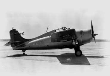 Grumman F4F-3 from VF-42 in pre war color scheme