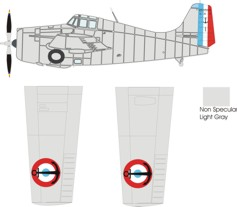 Grumman G-36A color scheme and markings