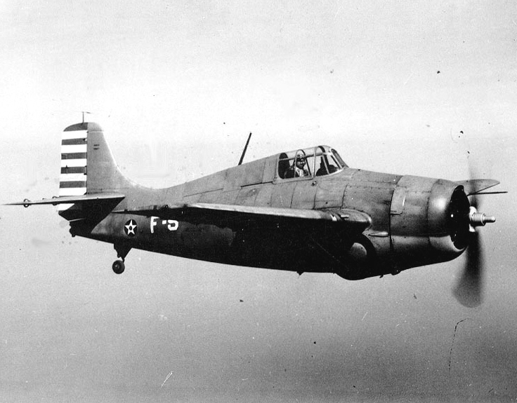 Grumman F4F-3 in early war color scheme
