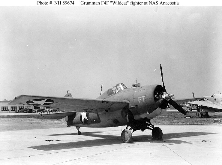 Eastern FM-1 Wildcat Bu. No. 14992 at