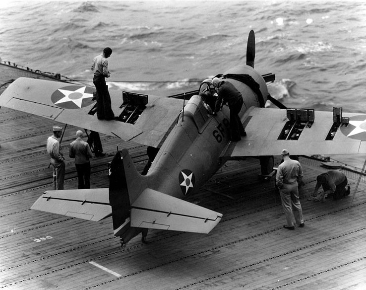 Grumman F4F-4 Wildcat USS Enterprise