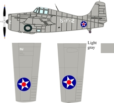 Grumman F4F-3 Wildcat
