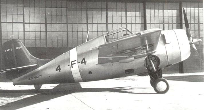 Grumman F4F-3 of VF-41 pre-war color scheme
