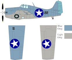 F4F-4 color scheme and markings