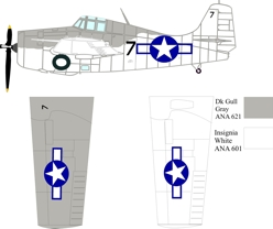 Grumman designed Eastern built FM-2 color scheme