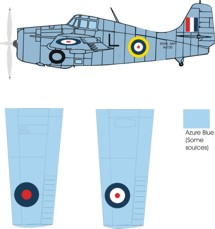 Grumman Martlet III color scheme and markings