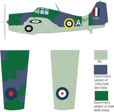 Grumman Martlet I color scheme and markings