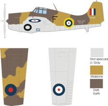 Grumman Martlet III color scheme and markings North