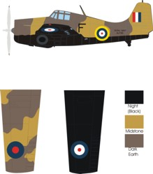 Grumman Martlet III Fleet Air Arm color scheme and