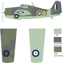 Grumman Martlet II color scheme and markings