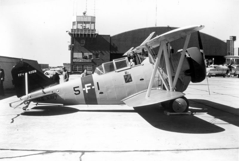 Grumman FF-1 Bu. No. 9358 pre war color scheme