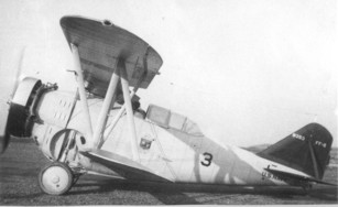 Grumman FF-2 Bu. No, 9353 in pre war color scheme