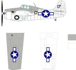 Grumman designed Eastern built FM-1 color scheme