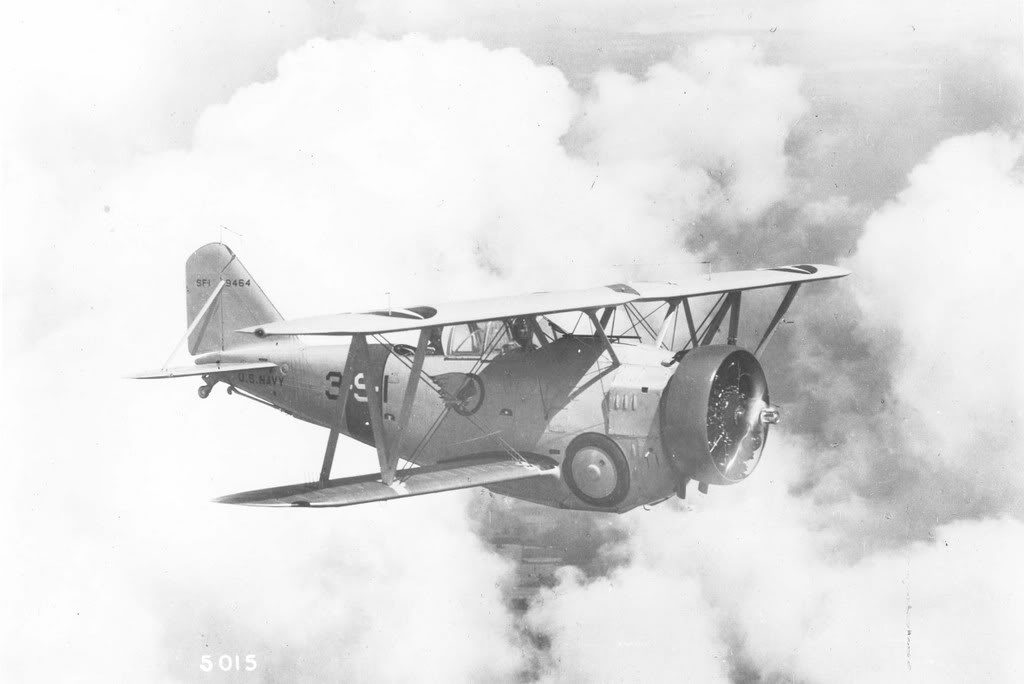 Grumman SF-1 in pre war color scheme