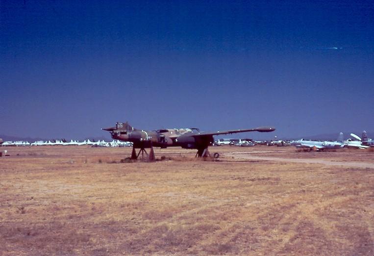 A-26K derelict
