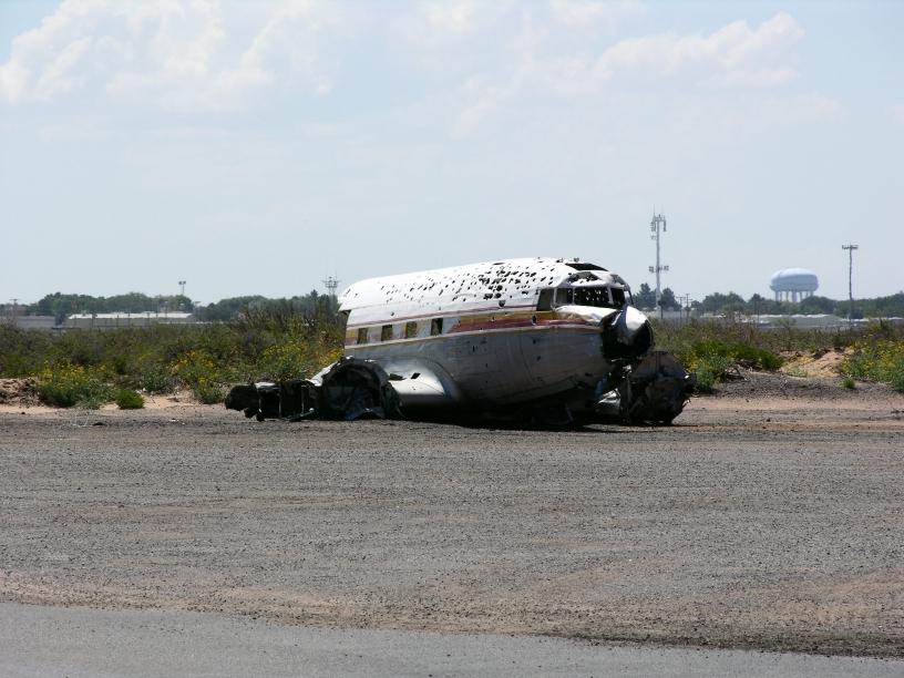 DC-3 derelict