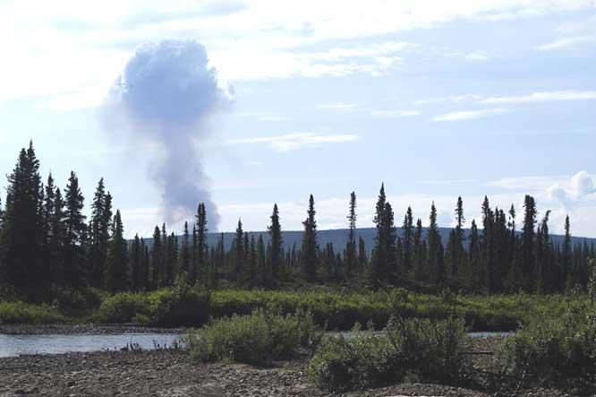Waldbrände Alaska Karte.Baren In Alaska