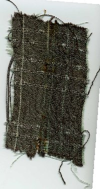 Sample of brocade cloth.