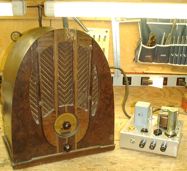 Power Supply for the Philco Radio