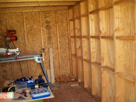 Building The Storage Shed
