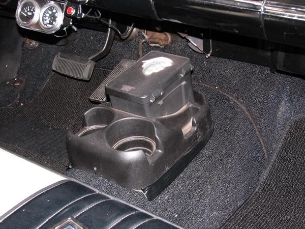 Custom Comet Cupholder