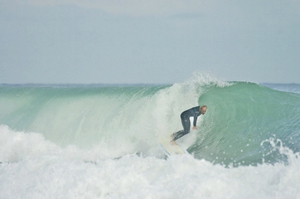 Local surfer/skimmer Boardhead Jim - Click pic for more