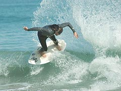 Pro skimboarder, Brad Evers - click here for more pics