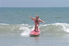 A Kentucky Family learns to surf and skim - Click pic for more