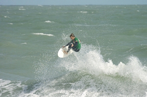 Local Surfer Travis Beckman wins- Click pic for more