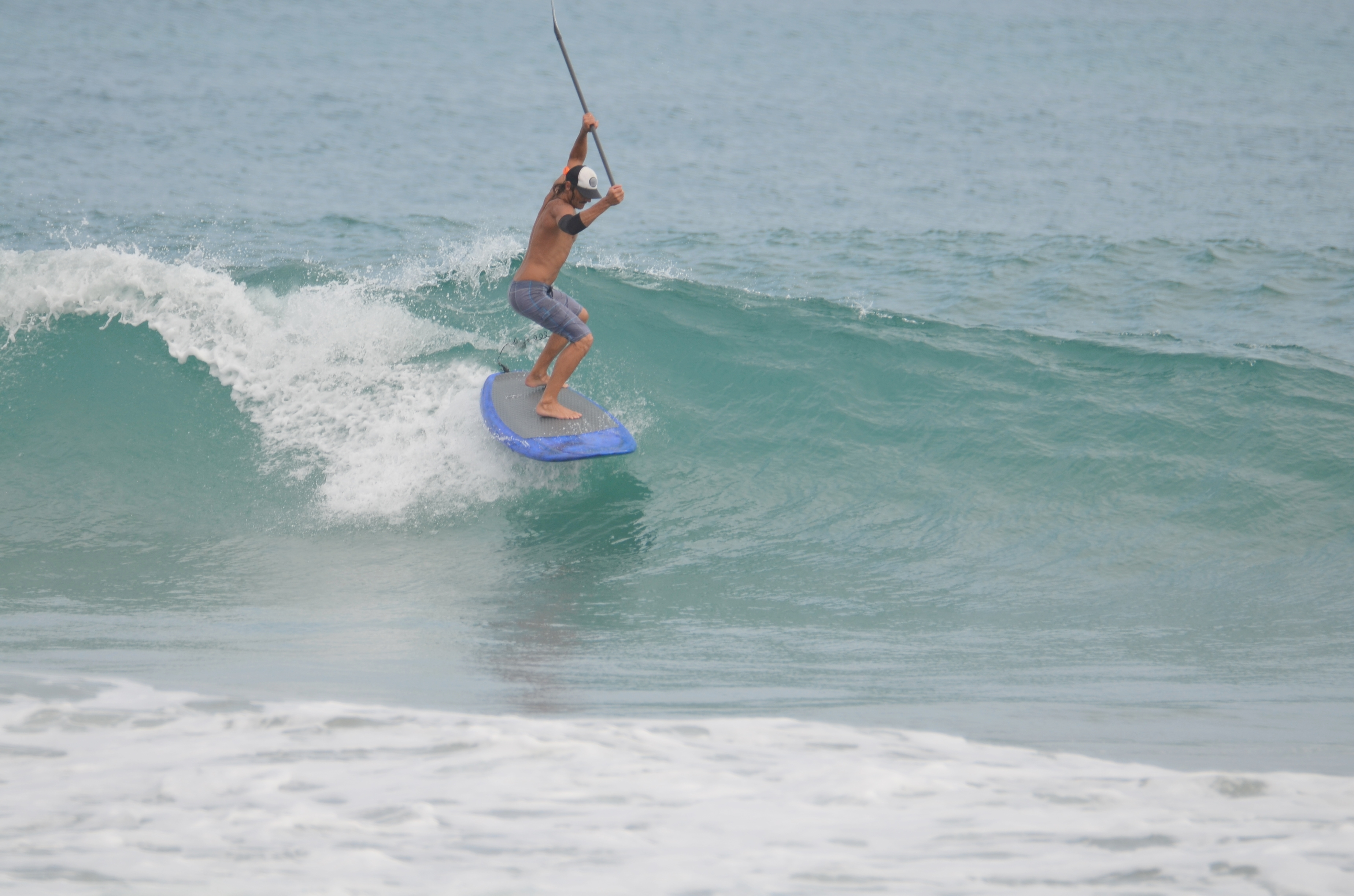Local Paddleboarder BoardHead Jim - Pics coming Soon