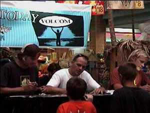 Mike Guarino, Sean Slater, & Billy Hume Signing Autographs
