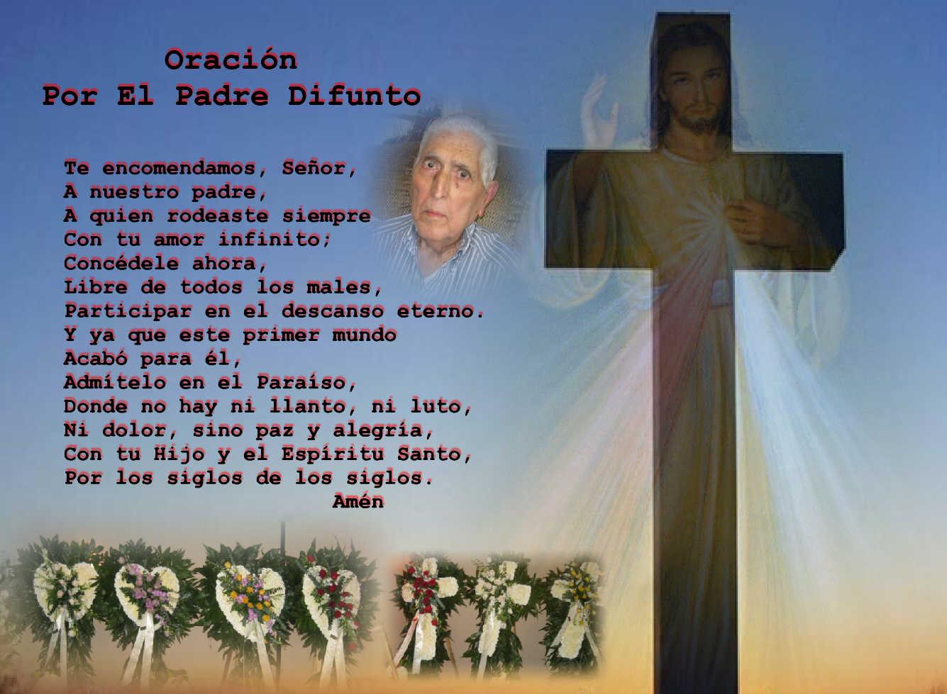 Oracion Para Un Padre Difunto