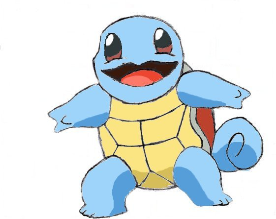 how to make a squirtle tail
